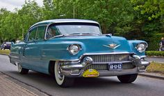 1956 Cadillac Sixty Fleetwood Special Four Door Sedan with 6.0L V8 Valve-in-Head Engine at 285Bhp (Image by Clay)