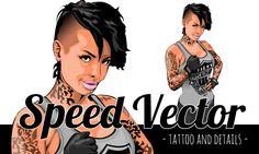 Christy Mack Vector Customization Tattoo&Details http://www.gi-art.it