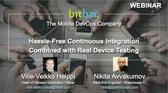 Bitbar provides Testdroid for mobile app testing, mobile monitoring and devops solutions to improve mobile app quality, user experience and mobile performance. Cloud Based, User Experience, Mobile App