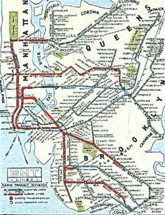 New York City History with Subway Maps