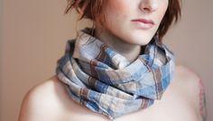 pretty plaid scarf.