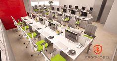 ¿No tienes idea de qué muebles son los adecuados para tu oficina? ¡No te preocupes! En Ergomöbel te asesoramos.   Contáctanos en el Ergo- Whatsapp al:  222 630 1385