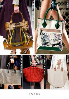 6e45592a11d Spring 2012 runway saw brand new trends in handbags including handle  wristlets and modern box shapes.