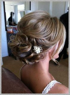 half up half down wedding hairstyles with bangs