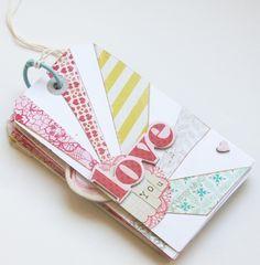 sweet valentine mini book for husband