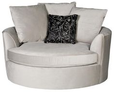 Love this cuddle couch for Camryn's playroom, perfect to read books and cuddle in!! would pick different fabric.
