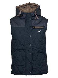 Dámská modrá vesta Lady Ice Voi Jeans 1 Vest, Ice, Lady, Jeans, Jackets, Fashion, Down Jackets, Moda, Fashion Styles