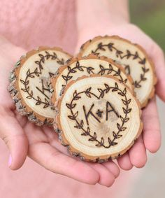 Love this Rustic Personalized Coaster - Set of Four on #zulily! #zulilyfinds