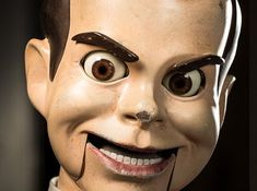"Slappy the Dummy from Night of the Living Dummy | The Monsters From The New ""Goosebumps"" Movie Will Revive Your Childhood Nightmares"