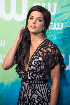 Marie Avgeropoulos attends the 2016 CW Upfront in New York http://celebs-life.com/marie-avgeropoulos-attends-the-2016-cw-upfront-in-new-york/  #marieavgeropoulos