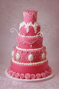so pretty in pink cake