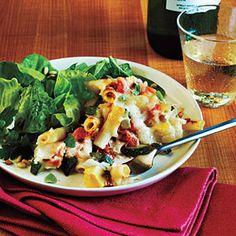 Dinner Tonight: Vegetarian | Baked Ziti and Summer Veggies | CookingLight.com