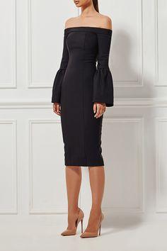 Misha Collection - Selena Dress - Ebony
