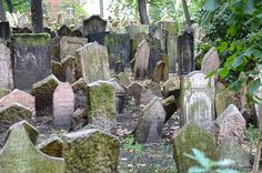 The Old Jewish Cemetery is Europe's oldest surviving Jewish cemetery. It was founded in 1478. Due to lack of space, the deceased were buried on top of each other. It is estimated there are at least 100,000 people interred here. There are over 12,000 gravestones, and the last burial was in 1787.