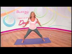 Wake Up and Go with Denise Austin. Video 15 minutes for Low Impact Aerobics and Yoga to stretch and tone the whole body. #Workouts