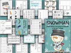 Snowman Activities y