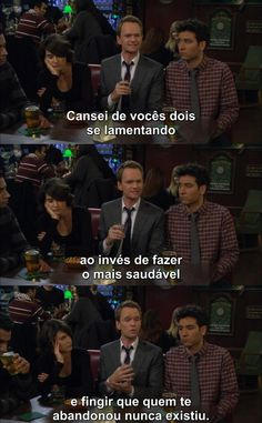 How I Met Your Mother - Dialogo - Legenda - Barney Stinson - Robin Scherbatsky - Ted Mosby How I Met Your Mother, Series Movies, Movies And Tv Shows, I Meet You, Told You So, Robin Scherbatsky, Ted Mosby, Mothers Friend, Himym