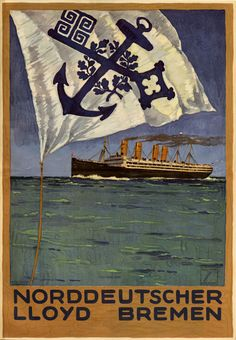 Buy online, view images and see past prices for Poster by Ludwig Hohlwein - Das Plakat. Invaluable is the world's largest marketplace for art, antiques, and collectibles. Wilhelm Ii, Kaiser Wilhelm, Vintage Magazine, Fantastic Voyage, Tourism Poster, Vintage Boats, Vintage Graphic Design, Ludwig, Advertising Poster