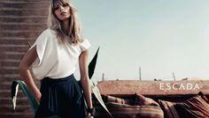 galleriadigiani: Julia Stegner for Escada Summer Fashion Trends, Spring Summer Fashion, Marrakech, Campaign Fashion, Friends Fashion, My Wardrobe, Short Dresses, Fashion Looks, Normcore