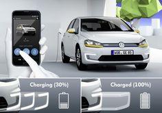 Volkswagen presenta en el CES la carga sin cables para vehículos eléctricos +http://brml.co/1tUYLiu