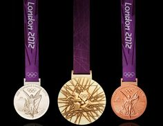 2012 London Olympic Medals