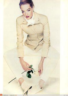 ☆ Tatjana Patitz | Photography by Nick Knight | For Jil Sander Campaign | Spring…