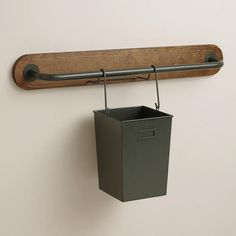 One of my favorite discoveries at WorldMarket.com: Modular Kitchen Wall Storage Cooking Utensil Caddy