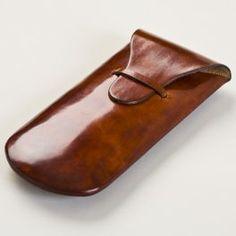 Italian Handcrafted Leather Eyeglass Case - $85.00 : EyeItalia