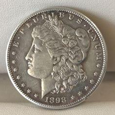 1898-S Silver Morgan Dollar - Beautiful Condition!