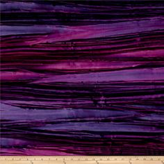 Kaufman Artisan Batiks Patina Handpaints Bold Stripes Petunia from @fabricdotcom  From Lunn Studios for Robert Kaufman, this batik fabric collection is perfect for quilting, apparel, and home decor accents. Colors include shades of purple.