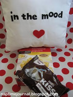 In the mood pillow, that's just funny