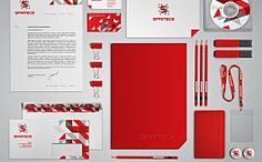 Creating your business' corporate identity and branding is crucial for your business success. Here are 50 inspiring examples to get you on the right track. Corporate Identity Design, Visual Identity, Brand Identity, Web Design, Logo Design, Brand Design, Stationary Design, Increase Sales, Layout