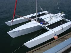 Trimaran Hull Design   What type of rig is it designed to use?