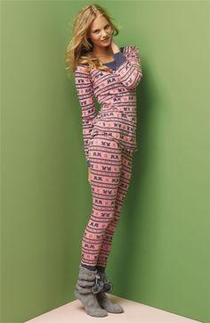 Make + Model Pattern Thermal Pajamas | Nordstrom