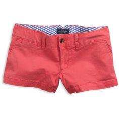 Washed Favorite Short - Soft Coral, Sand Dune, Black, Lemon Soda ($20) ❤ liked on Polyvore featuring shorts, bottoms, pants, pink, general, swim, women's, shorts + pants, coral shorts and swim shorts