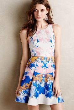Anthropologie Meadowland Dress #anthrofave