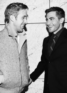Ryan Gosling AND Jake Gyllenhaal? My heart is melting. They are SOOO fine! :)