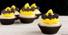 Batman Cupcakes Reci