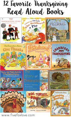 12 of My Favorite Thanksgiving Books for Kids by Jennifer Fox