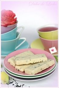 The Capitol Baker: Earl Grey Shortbread Cookies