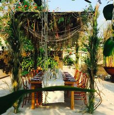 Rustic, tropical set up with our Natural cross backs & tables | Bali Event Hire www.balieventhire.com Chic Wedding, Bali, Tables, Tropical, Rustic, Natural, Gallery, Swimming Pools, Mesas