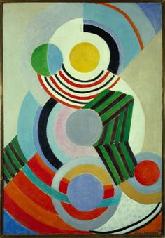 Sonia Delaunay Rhythm 1945 Grey Art Gallery New York © Pracusa 2014083