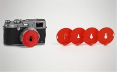 Make your Season's Greetings cards funky and original with this 3D printed Holiday Bokeh Kit