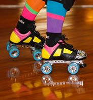 Funkys rollerskating and indoor play area.