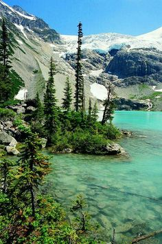 Upper Joffrey Lake, north of Whistler, BC, Canada