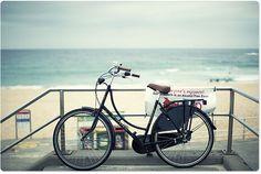 Biking to the beach with my dad, Santa Ana River Trail to Huntington Beach, CA