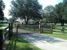 gated entrances designs - Google Search