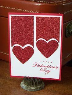 Stetler Arts Rubber Stamping Tutorials Card Making Ideas: Some Valentine Cards Valentines Day Cards Handmade, Valentines Diy, Homemade Valentine Cards, Handmade Anniversary Cards, Valentines Card Design, Making Greeting Cards, Greeting Cards Handmade, Tarjetas Diy, Valentine's Day Diy