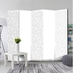Paravent Clausen Floral Pattern I Lily Manor Anzahl der Paneele: 5 Bamboo Room Divider, 4 Panel Room Divider, Mystery Room, Marble Room, Flower Room, Relaxation Room, Home Accents, My Room, Modern Interior