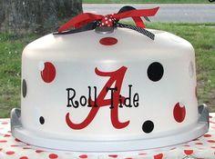Roll Tide Cake Carrier